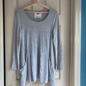 Cupio M Gray Soft Tunic